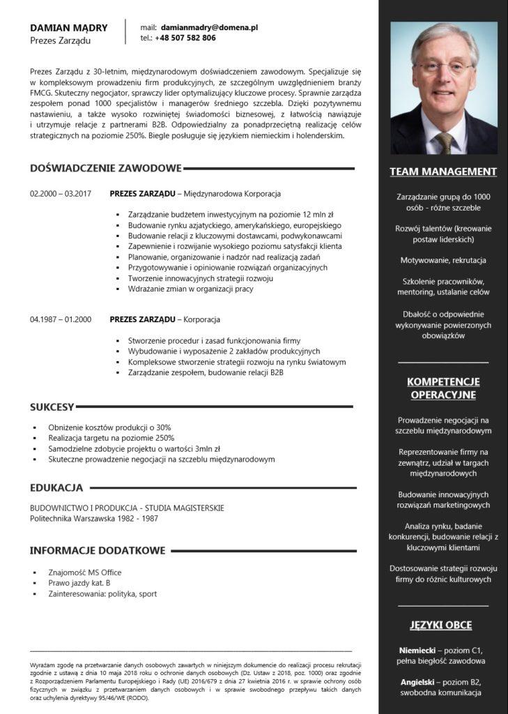 Profesjonalne CV i LM 2
